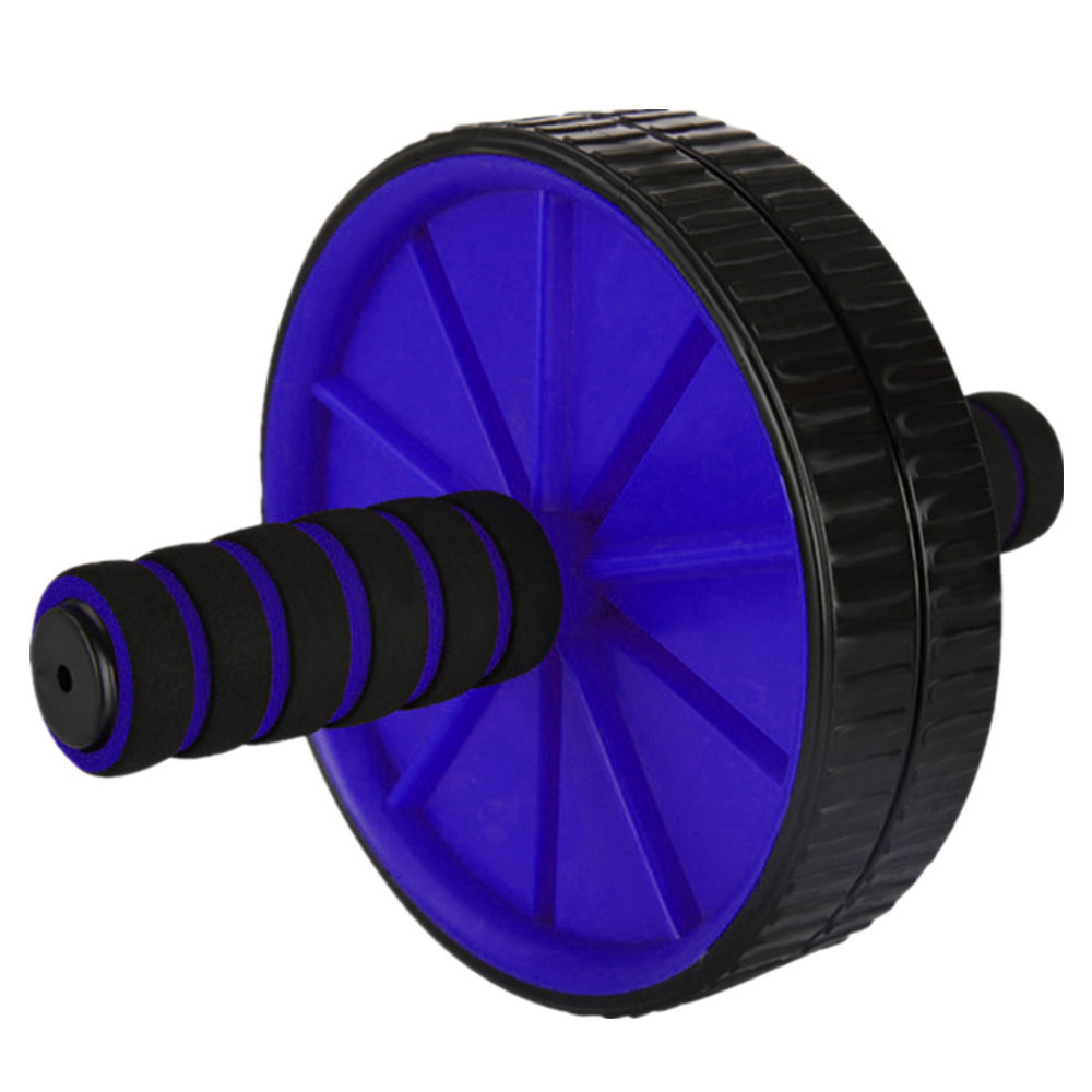 DRB Ab Slide Wheel Roller for Home Gym Exercise Equipment with Easy Grip Handles
