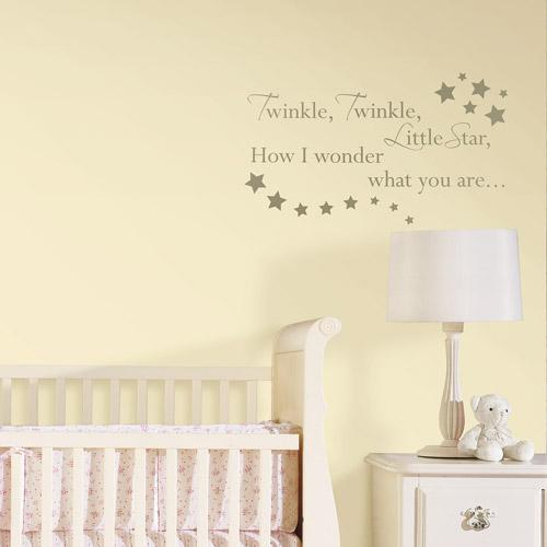 "WallPops - ""Twinkle, Twinkle"" Nursery Rhyme"
