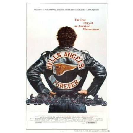 Hells Angels Forever Movie Poster 24x36