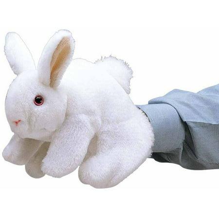 Five Puppets (Folkmanis Bunny Rabbit Hand Puppet )