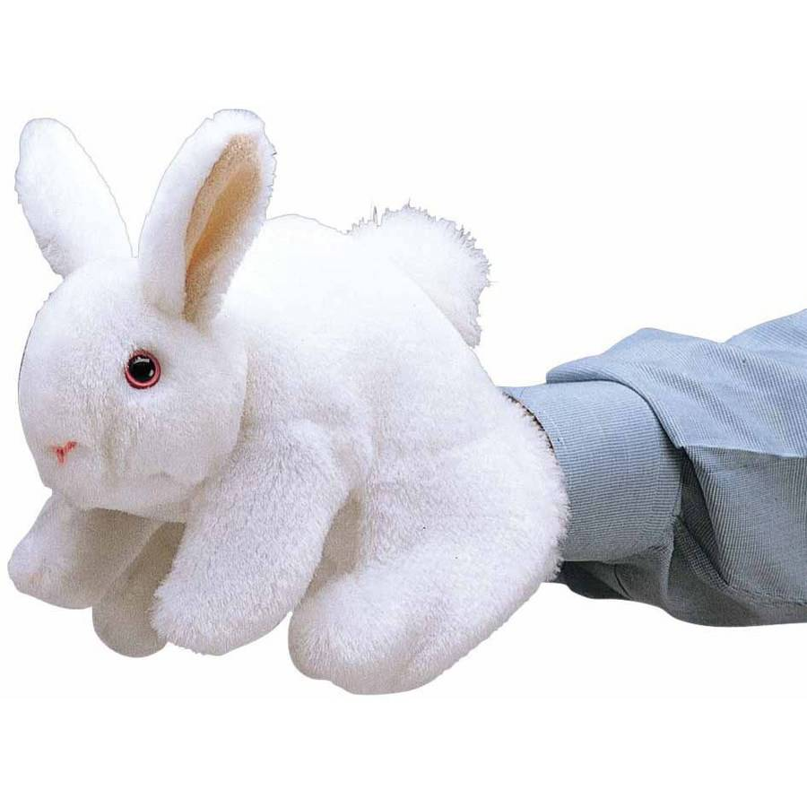 Folkmanis Bunny Rabbit Hand Puppet