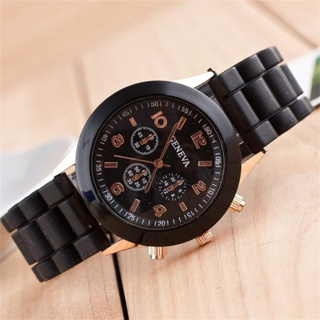 Hot Fashion Luxury Men Women Sport Army Stainless Steel Date Analog Quartz Wrist Watch