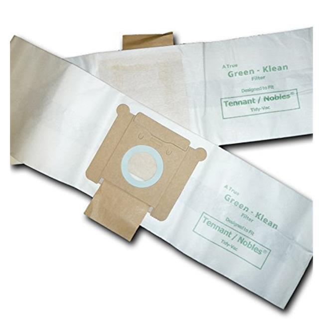 Green Klean GK-TidVac Tennant Nobles Tidy-Vac Canister & Model 3400 Replacement Vacuum Bags - 10 per Case - Case of 10 - image 1 of 1
