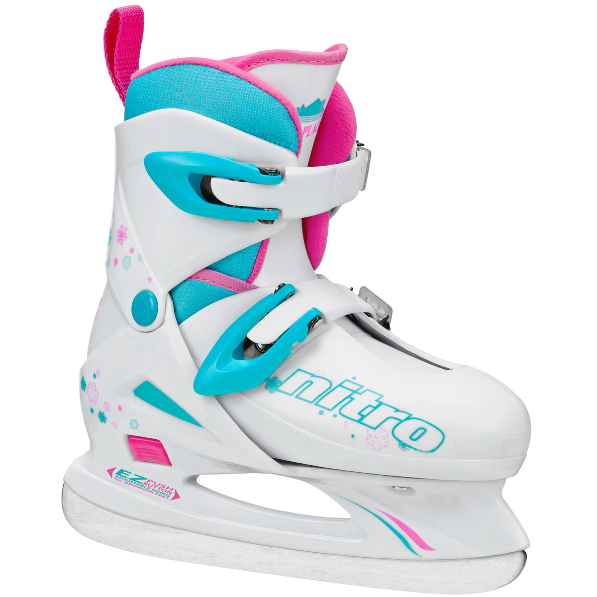 Lake Placid Nitro 8.8 Girl's Adjustable Figure Ice Skate - LP102G