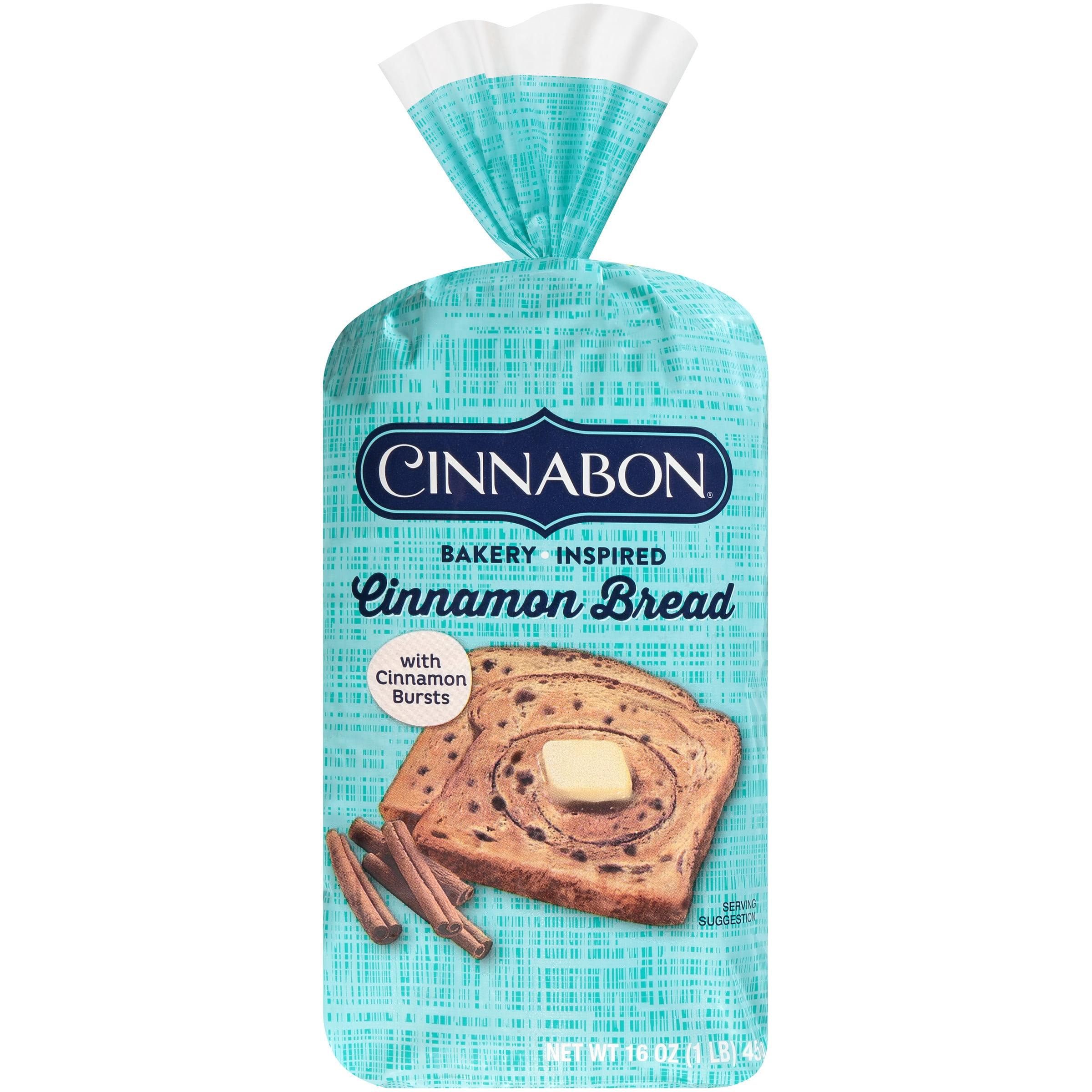 Cinnabon Cinnamon Bread 16 Oz Loaf Walmart Com Walmart Com