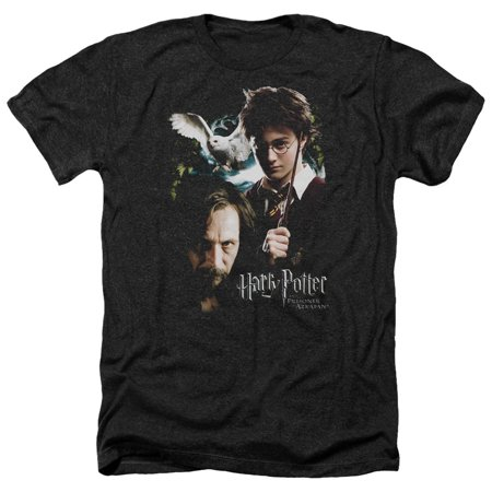 Harry Potter Harry And Sirius Mens Heather Shirt