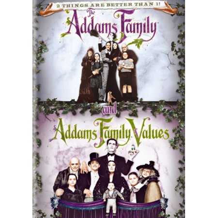 2 Movie Collection: The Addams Family and Addams Family Values (DVD) (VUDU Instawatch Included) for $<!---->