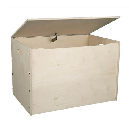 Big Toy Box - Unfinished (Unfinished Wood Chest)