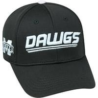 University Of Mississippi State Bulldogs Black Baseball Cap