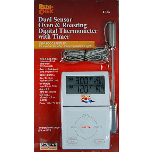 Maverick ET-85 Dual Sensor Oven and Roasting Digital Thermometer with Timer
