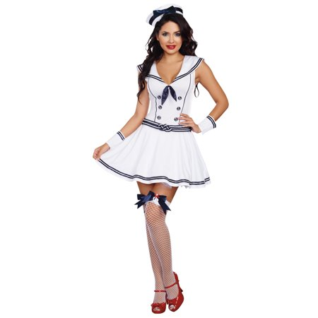 Boat Rockin Babe Women's Adult Halloween Costume - A Rockin Halloween Mp3