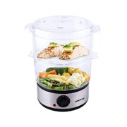 Best electric food steamer - Ovente Electric Food Steamer Two Tiers Stainless Steel Review