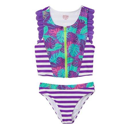 OFFCORSS Big Girls Tankini Swimsuit Tops Set | Traje de Baño para - Trajes Para Halloween Faciles