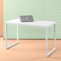 Zinus Jennifer Modern Computer Desk, Vanilla Finish