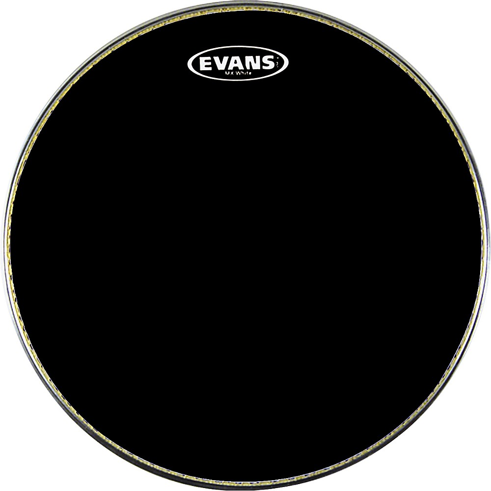Evans MX1 Marching Bass Drum Head Black 20 in.