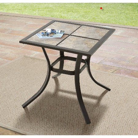 Mainstays Heritage Park Patio Side Table 18 X 18 Walmart Com