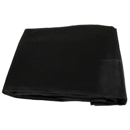 Black Mesh 10x16 Heavy Duty UV Screen Shade Canopy Patio Yard Tarp Sun Cover