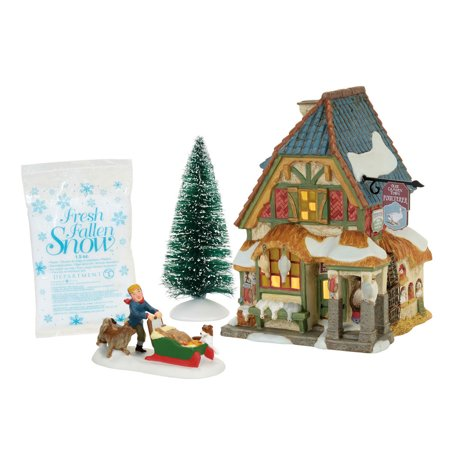 Dept 56 Dickens Village 4056648 Xmas Carol Poulterer Shop Box Set