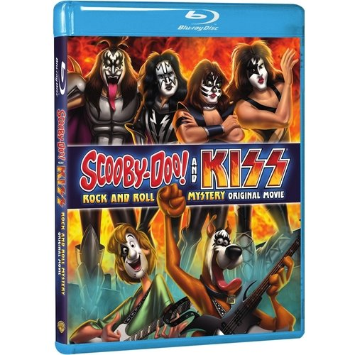 Scooby-Doo! And KISS: Rock And Roll Mystery (Blu-ray + DVD + Digital HD With UltraViolet) (With INSTAWATCH) (Widescreen)