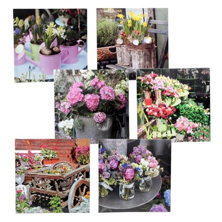 New 212294  Flower Canvas Art - Asst 15.75 (24-Pack) Others Cheap Wholesale Discount Bulk Stationery Others Short](Pro Flower Discount Code)