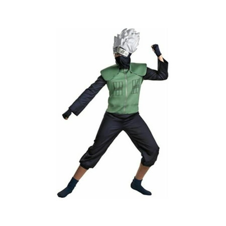 Anime Cosplay Costumes For Men (Adult Deluxe Naruto Kakashi Cosplay)