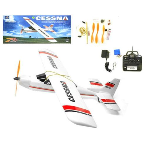 "38"" Wingspan Hobby 4CH RC Cessna 747 Plane 370A Motor (Gift Idea) by"