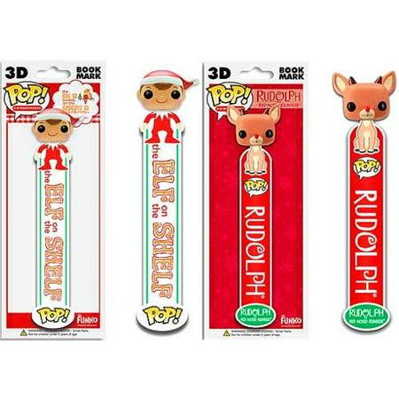The Elf on the Shelf Funko POP! Holidays Elf & Rudolph Bookmarks - Elf On Rudolph