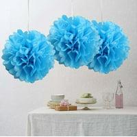 Efavormart 6 PCS Paper Tissue Banquet Event Festival Paper Flower Pom Pom 10 inch