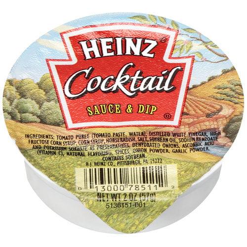 Heinz Cocktail Sauce & Dip, 2 oz