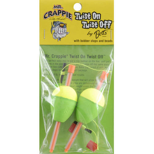 Mr. Crappie Bobbers by BETTS TACKLE LTD.