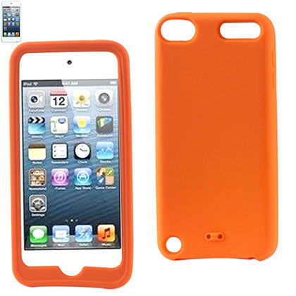 Silicon Case For Ipod Touch5 Orange
