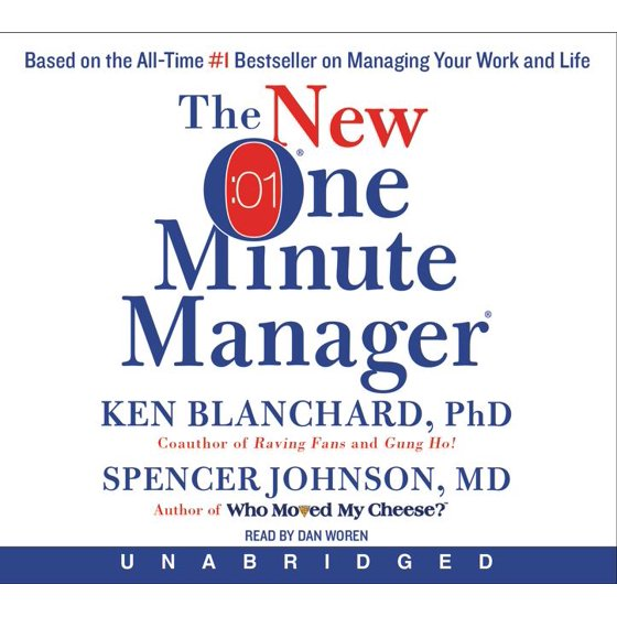 The New One Minute Manager CD (Audiobook)