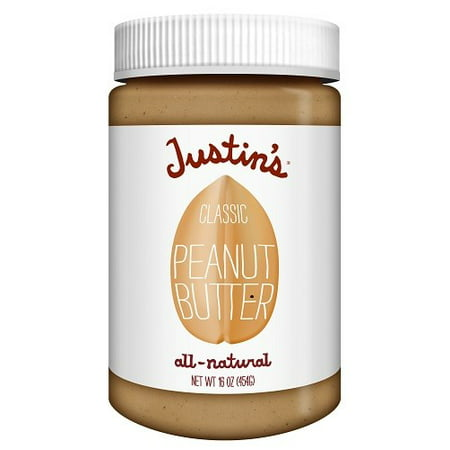Justin's All Natural Peanut Butter, Classic, 16
