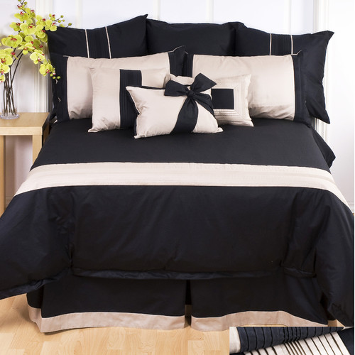 Charister Tux Black Sheet Set