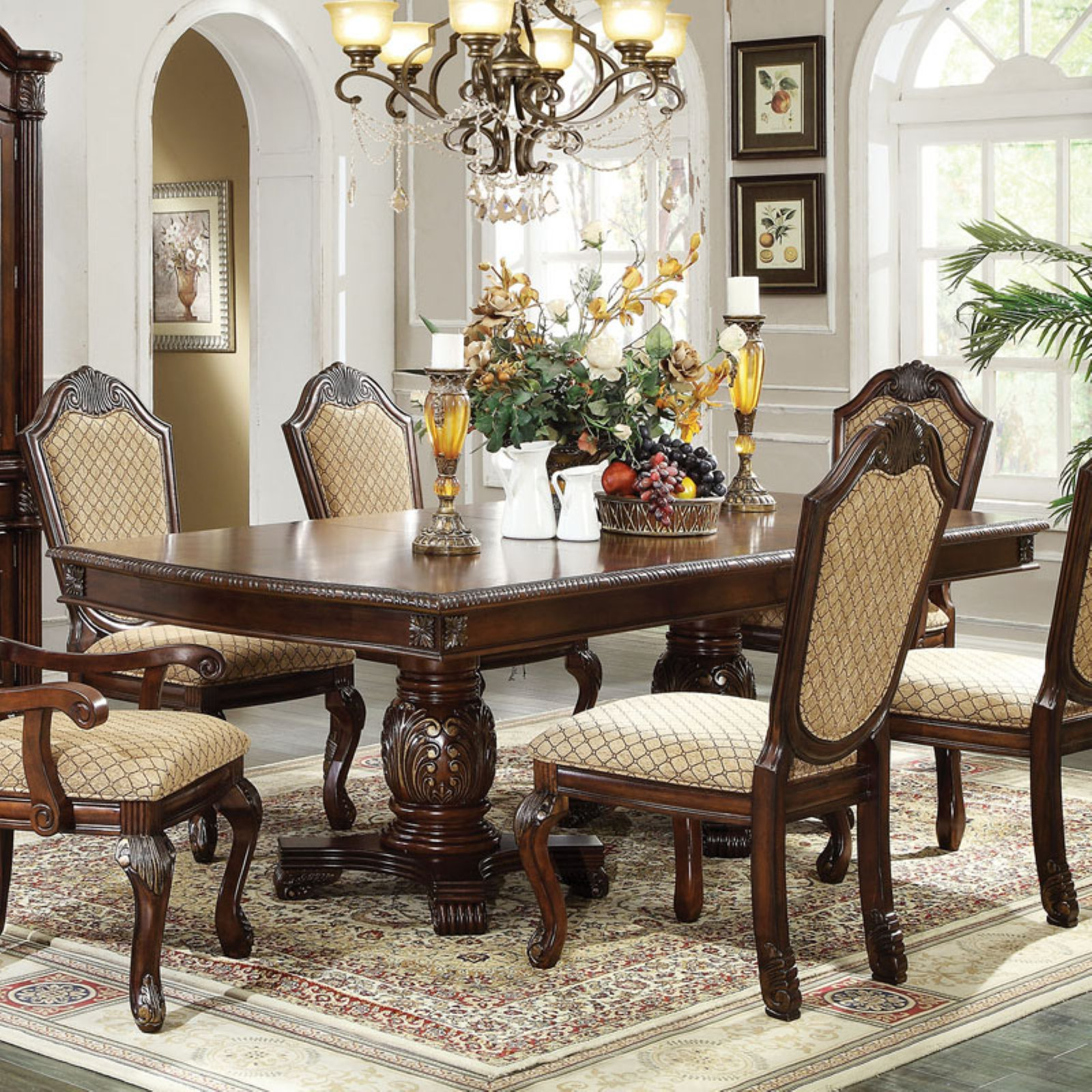 Acme Furniture Chateau De Ville Rectangular Dining Table