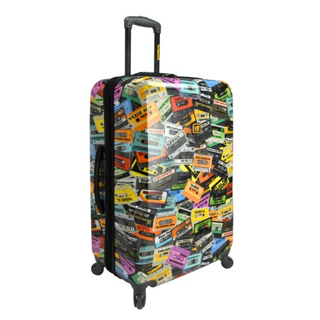 Loudmouth Party Mix 29  Expandable Checked Spinner Luggage