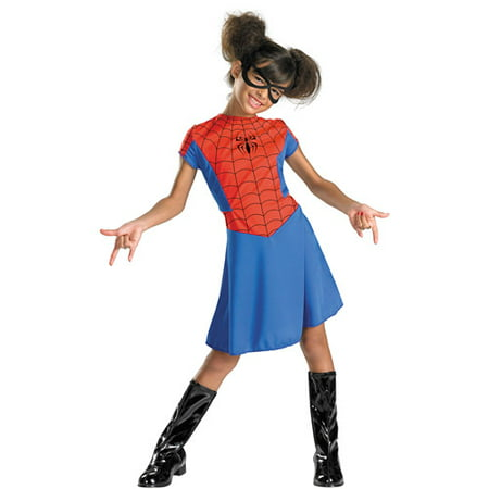 Spider-Girl Classic Child Dress Up / Role Play Costume