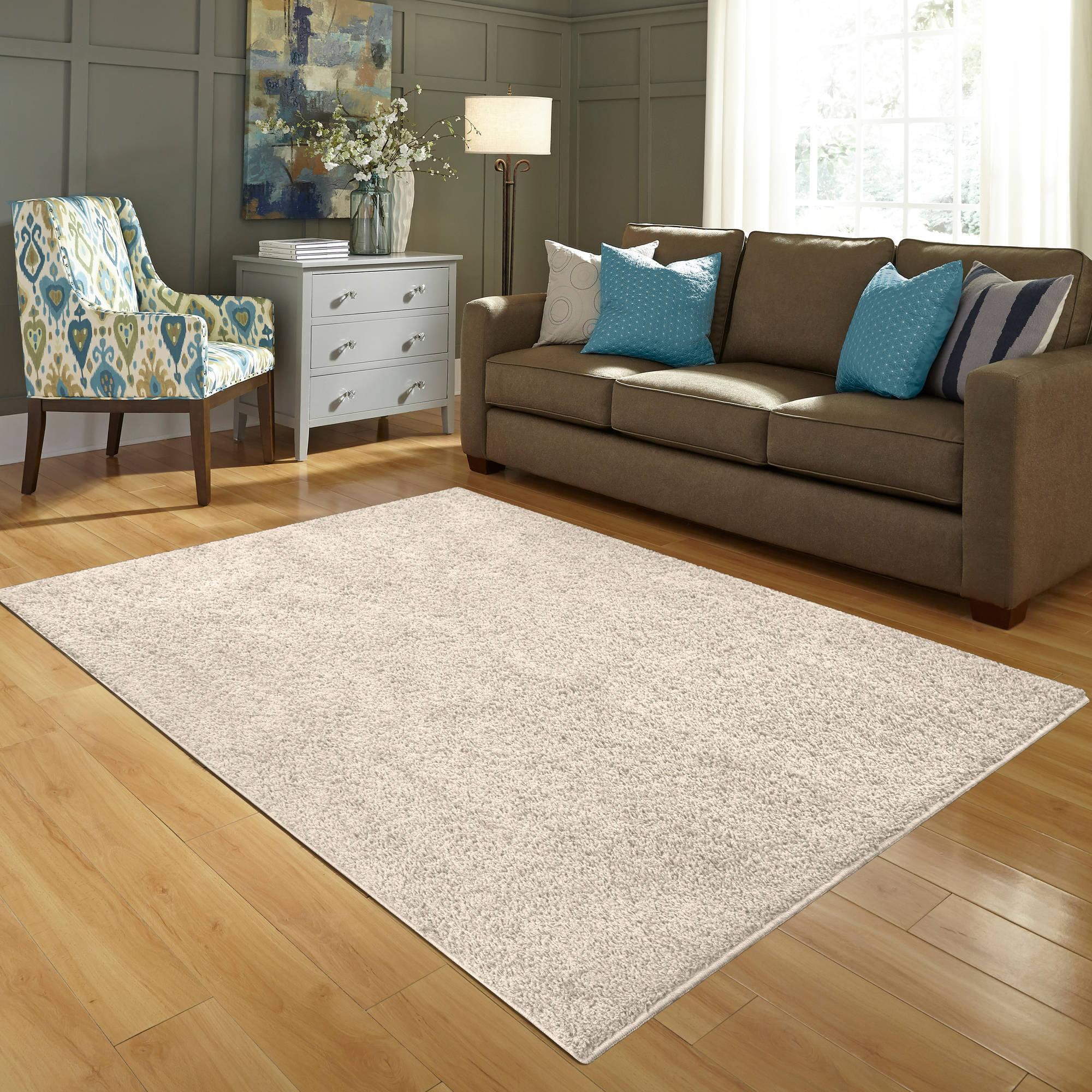 Shag Area Rugs mainstays olefin shag area rug collection - walmart