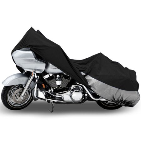 Motorcycle Bike Cover Travel Dust Storage Cover For Harley Davidson Police - image 3 de 3