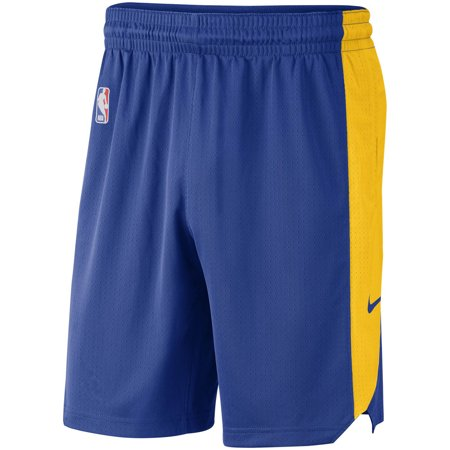 Golden State Warriors Nike Performance Practice Shorts - Blue