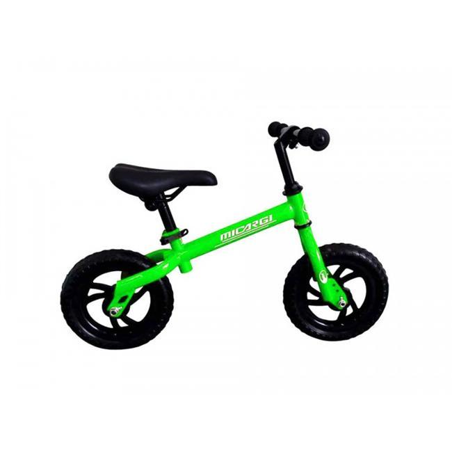 Micargi LIL SKEETER-GRE 10 in. Bicycle, Green Frame & Black Wheel
