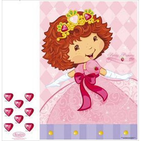 Strawberry Shortcake 'Berry Princess' Small Party Game Poster (1ct) (Strawberry Shortcake Birthday Supplies)