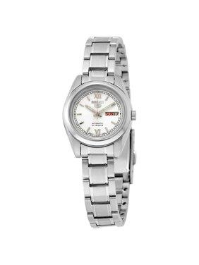 Seiko Women's 5 Automatic SYMK23K Silver Stainless-Steel Automatic Fashion Watch