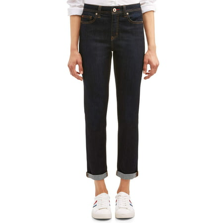 Vintage Wash Denim - EV1 from Ellen DeGeneres Alex Relaxed Vintage Fit Jean Women's (Dark Wash)