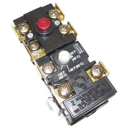 9001954-045 Upper Electric Thermostat With ECO, 100108684 240V DP up thermostat By Reliance