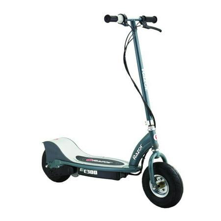 Razor E300 Electric 24 Volt Motorized Ride On Kids Scooter, Gray