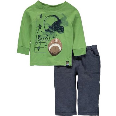 Charlie Rocket Wear Boys 12-24 Months Graphic Tee Pant - Charlie Sheen Outfit