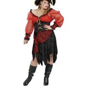 Adults Womens Pirate Buccaneer Beauty Costume X-Large Plus Size 16-22 by Forum Novelties