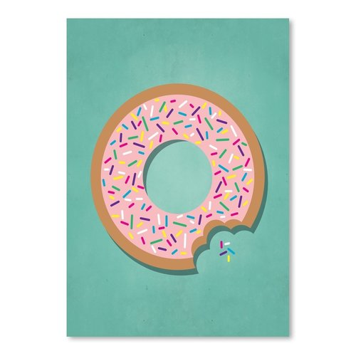 East Urban Home Sweets Donut Graphic Art