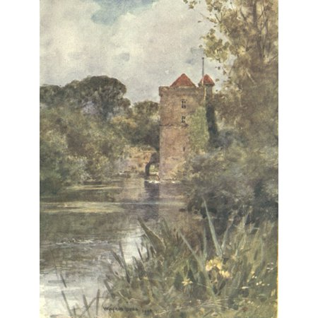 Sussex 1906 Mickleham Priory Poster Print By  Wilfrid Ball